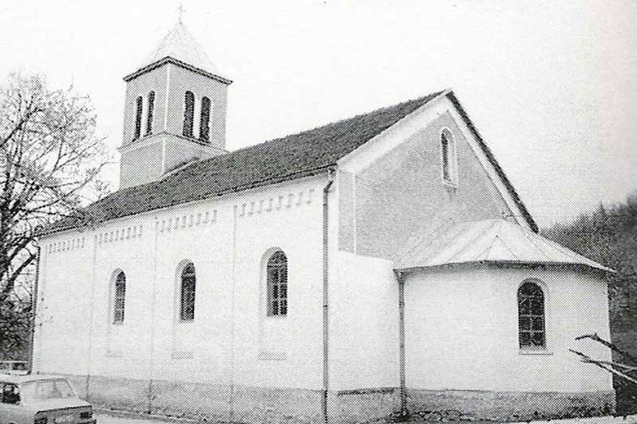 Slikovni rezultat za katolička crkva LISKOVICA